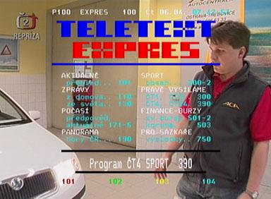 Mascom MC 1300T teletext
