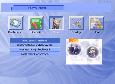 Smart MX 56 menu