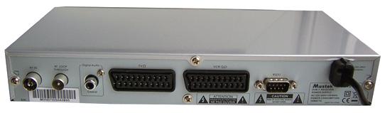 Mustek DVB-T350 zezadu