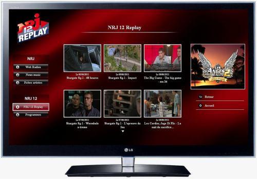 NRJ 12 - aplikace HbbTV