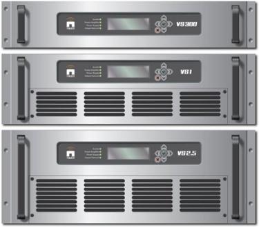 DRM+ - Natuel vysílač VS series