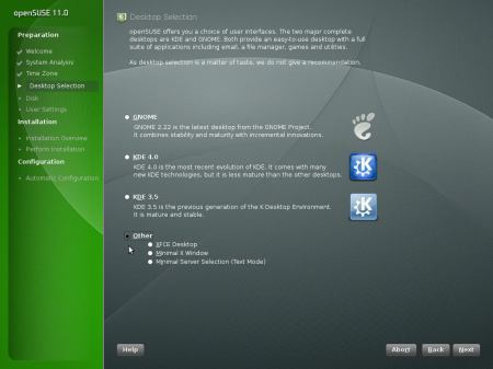 OpenSUSE 11 - 2