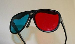 3D televize - brýle s barevnými filtry