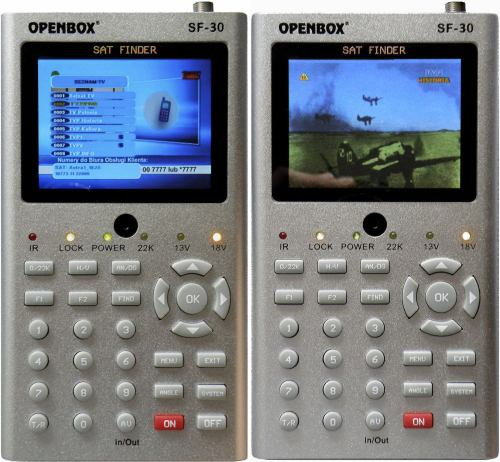 OpenBox SF-30 pohledy