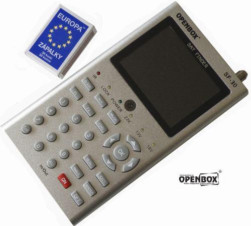 OpenBox SF-30 titul s logem