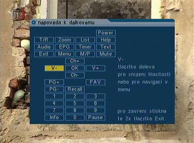Comag SL35T ovladac info
