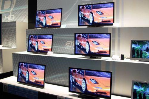 Panasonic 2011 - 3D LCD s LED