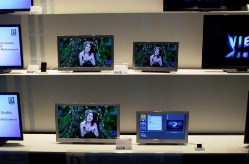 Panasonic 2011 - plazmy malé, stříbrné, řada D