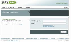 PaySec-registrace
