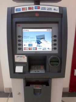 Bankomat Pharro Praha
