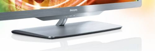 Philips 42PFL7606K - detail podstavec