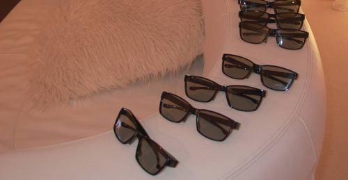Philips 50PFL7956H pasivní brýle