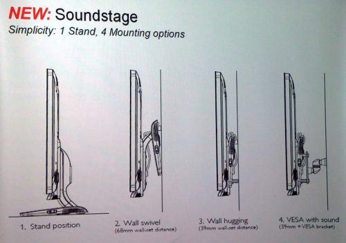 Philips 2011 - podstavec Soundstage
