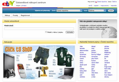 eBay česky