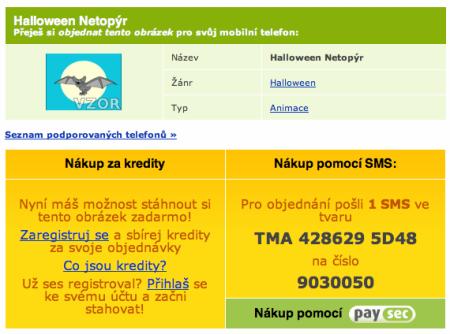 Mobilní platby za mobilní obsah