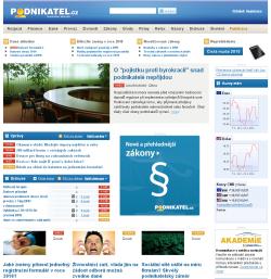 Podnikatel - screenshot