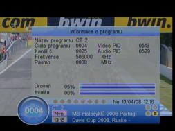 Porte DVB-8199 info detail