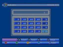 Porte DVB-8199 kalkulacka
