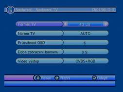 Porte DVB-8199 nastaveni