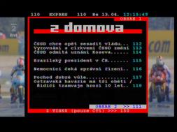Porte DVB-8199 teletext
