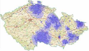 Prima analog - pokrytí ČR k 29.7.2010