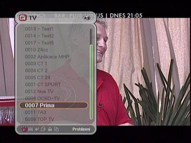 Homecast T3000 programy