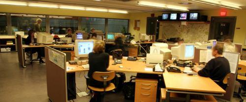 Český rozhlas newsroom