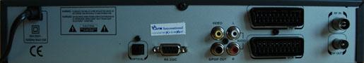 Radix DTR-9000 zezadu