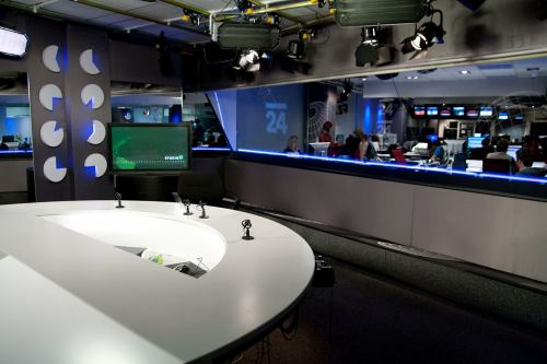 Regiony ČT 24 studio