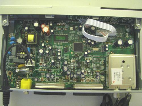 FTE MAX T115 vnitřek