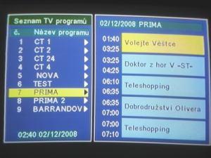 Opticum 7002T - menu 15