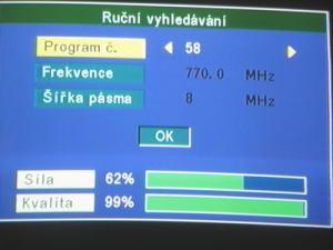 Opticum 7002T - menu 8
