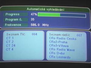Opticum 7002T - menu 4