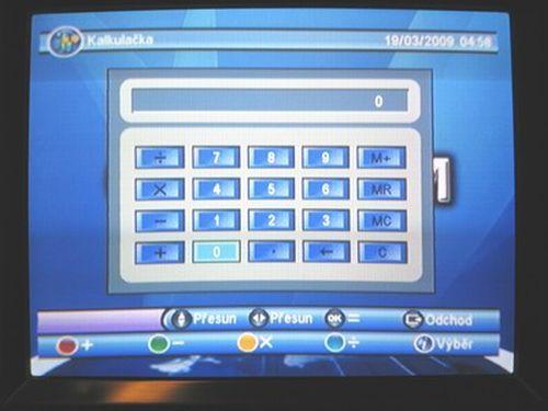 OPTICUM 7003T plus kalkulačka