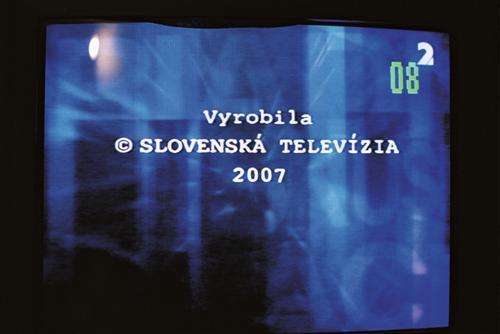 Slovenská televize obrazovka