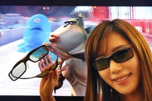 Samsung 2011 - SSG-3700CR - 3D brýle s Japonkou