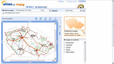 atlas-mapy