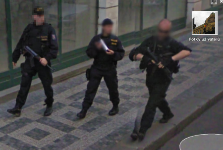 Google Street View - Senovážná