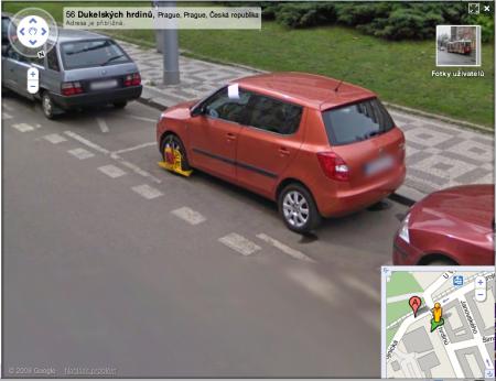 StreetView zajímavosti: botičky