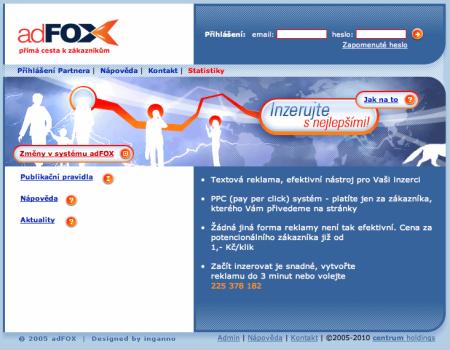 AdFox.cz 2010