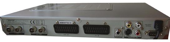 Sencor SDB 3007T zezadu