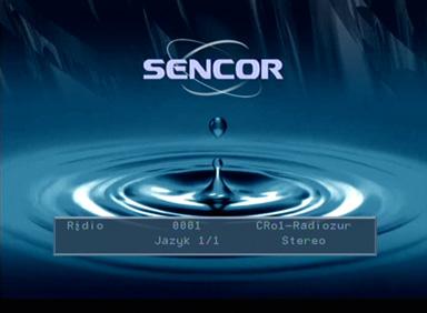 Sencor SDV-8801T info radio