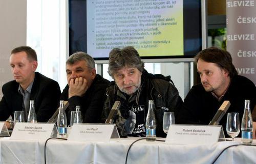 Václav Myslík, Čestmír Franěk, Břetislav Rychlík a Jan Pachl