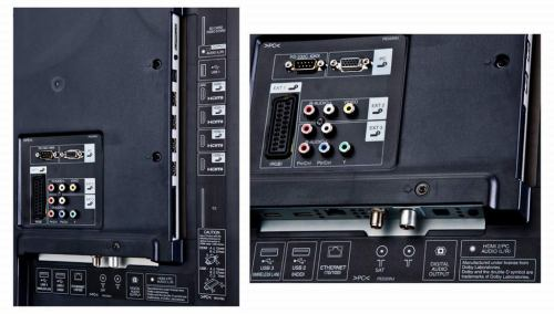 Sharp Aquos LC-60LE635 rozhraní