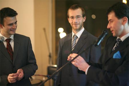 Křišťálová Lupa 2006 - Ján Simkanič, Aleš Miklík, Jakub Železný