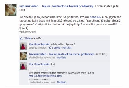 Podvodné stránky na Facebooku a propagace slevových serverů