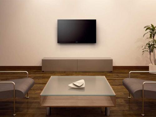 Sony KDL-46NX720 na stěně