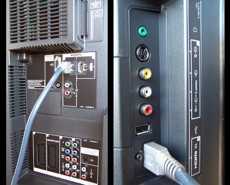 Sony konektory