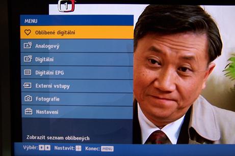 Sony menu
