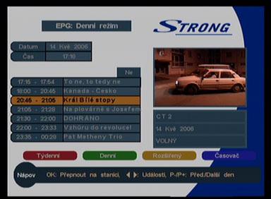 Strong 5126 EPG denni
